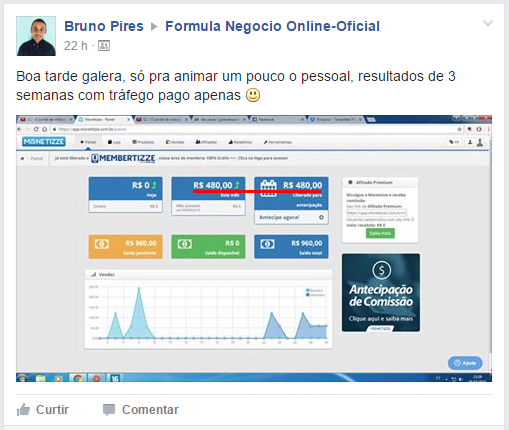 Depoimento Fórmula Negócio Online