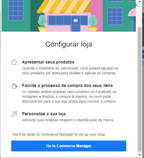 Como Configurar loja virtual no Facebook